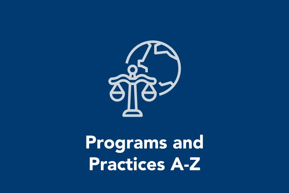 Programs and Practices A-Z